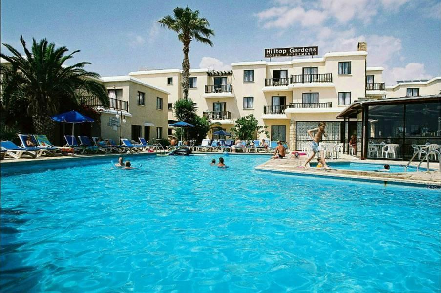 Holidays at Hilltop Gardens Apartments in Chloraka, Cyprus