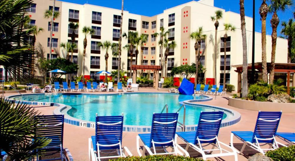 Holidays at Hawthorn Suites Orlando Hotel in Orlando International Drive, Florida