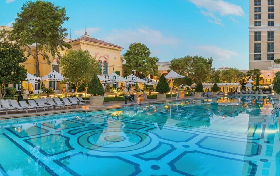 Holidays at Bellagio Hotel in Las Vegas, Nevada