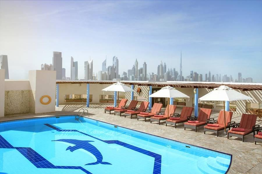 Holidays at Jumeira Rotana Hotel in Sheikh Zayed Road, Dubai