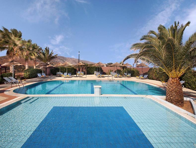 Blue Bay Resort Hotel Aghia Pelagia Crete Greece Book