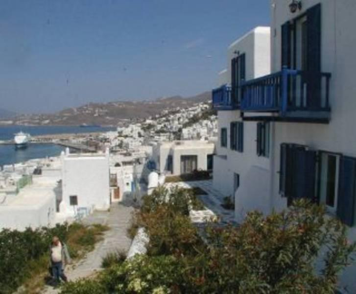 Holidays at Les Moulins Hotel in Mykonos Town, Mykonos