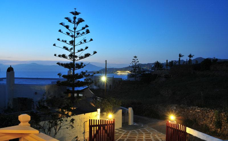 Holidays at Loukas Pensions Hotel in Mykonos Town, Mykonos
