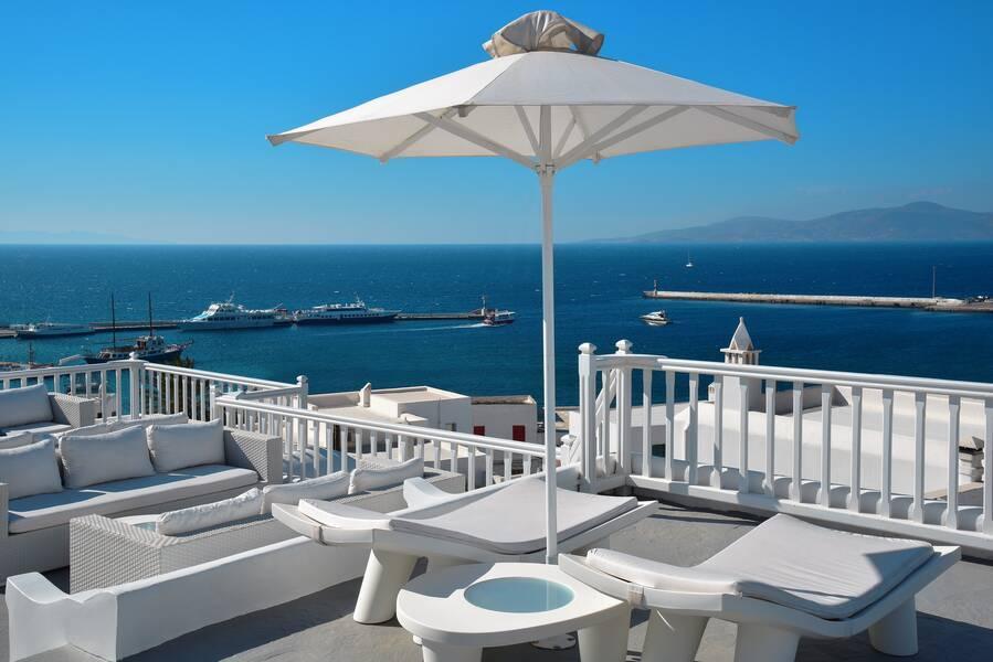Holidays at Petasos Town Hotel in Mykonos Town, Mykonos