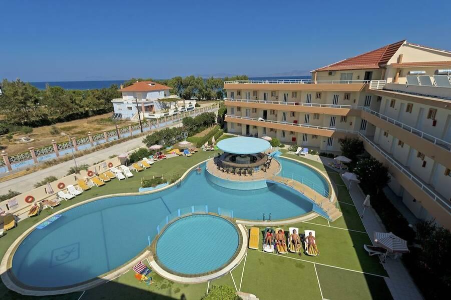 Holidays at Bayside Hotel Katsaras in Kremasti, Rhodes