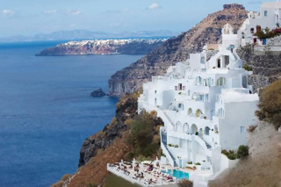 Holidays at Tzekos Villas in Fira, Santorini