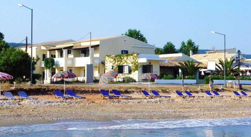 Holidays at Beachfront Salvanos Apartments in Acharavi, Corfu