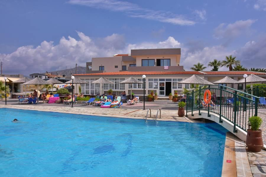 Holidays at Kalia Beach Hotel in Gouves, Crete