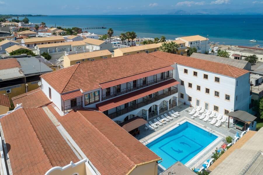 Lefkimi Hotel Kavos Corfu Greece Book Lefkimi Hotel Online