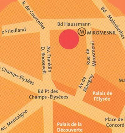 Holidays at Adagio Paris Haussmann Champs-Elysees Aparthotel in C.Elysees, Trocadero & Etoile (Arr 8 & 16), Paris