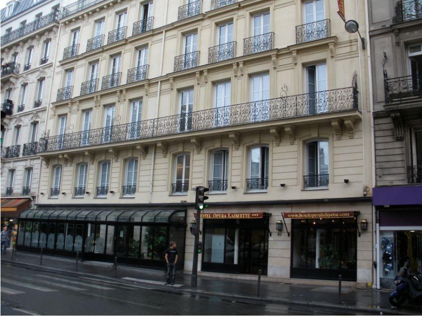 Holidays at Opera Lafayette Hotel in Opera & St Lazare (Arr 9), Paris