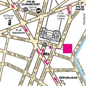 Holidays at Holiday Inn Paris - Gare de L'est in Gare du Nord & Republique (Arr 10 & 11), Paris