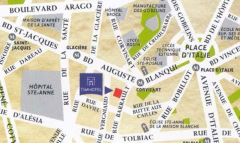 Holidays at Timhotel Place d'Italie-Butte aux Cailles in Bastille & Bercy (Arr 12 & 13), Paris