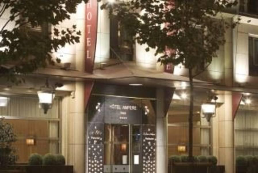 Holidays at Ampere Hotel in Arc De Triomphe & Pte Maillot (Arr 17), Paris
