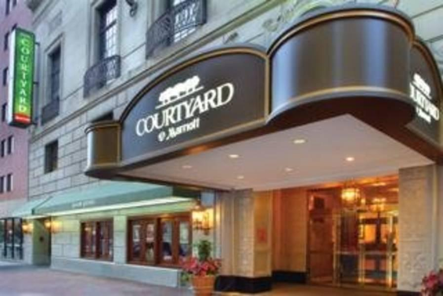 Holidays at Courtyard Boston Downtown Tremont Hotel in Boston, Massachusetts