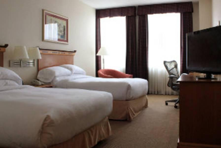 Holidays at Doubletree Downtown Hotel in Boston, Massachusetts