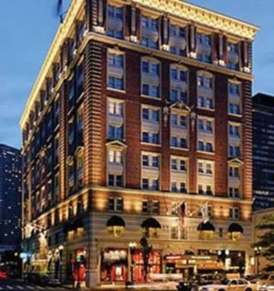 Holidays at Lenox Hotel in Boston, Massachusetts