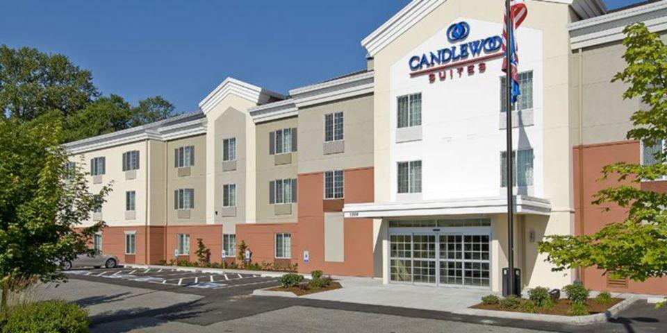 Holidays at Candlewood Suites Burlington in Boston, Massachusetts
