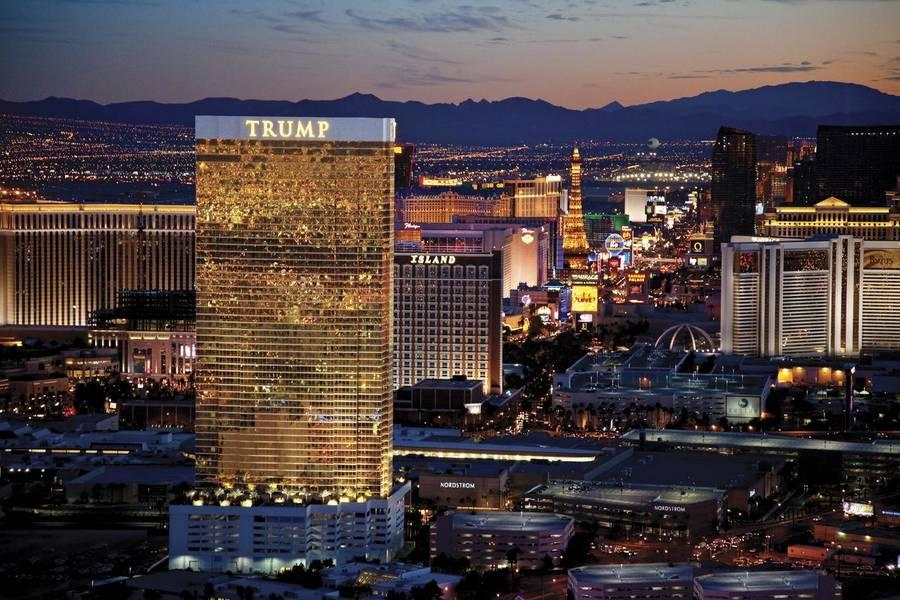Holidays at Trump International Las Vegas Hotel in Las Vegas, Nevada