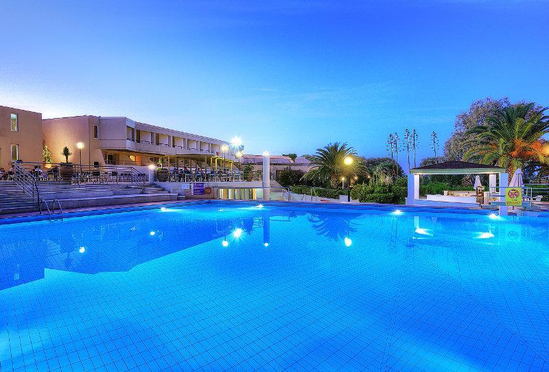 Holidays at Santa Marina Beach Hotel in Amoudara, Crete