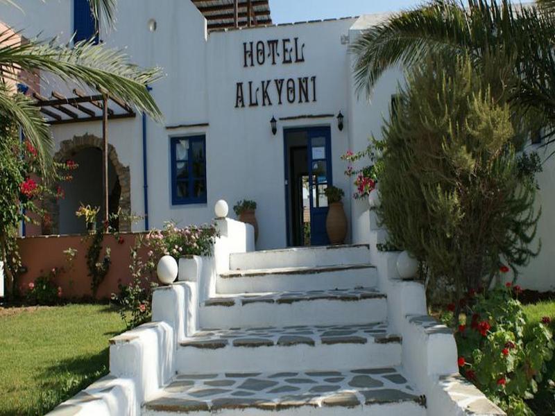 Holidays at Alkyoni Beach Hotel in Naxos Town, Naxos Island