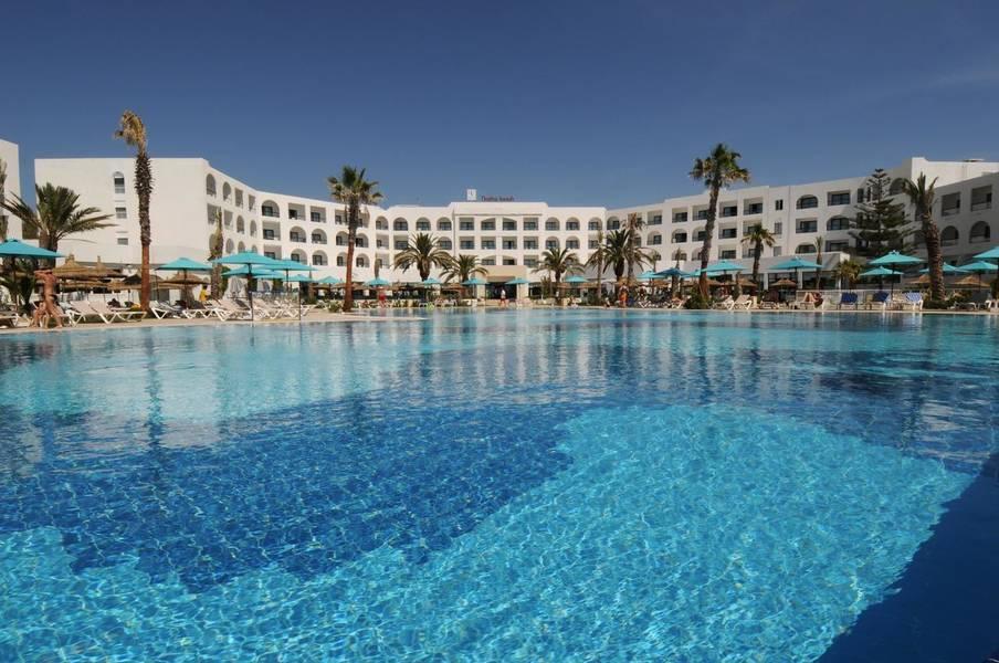Holidays at Vincci Nozha Beach Hotel in Hammamet, Tunisia