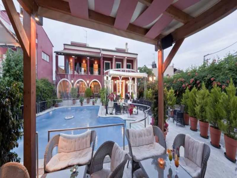 Holidays at Omiros Hotel in Gouvia, Corfu