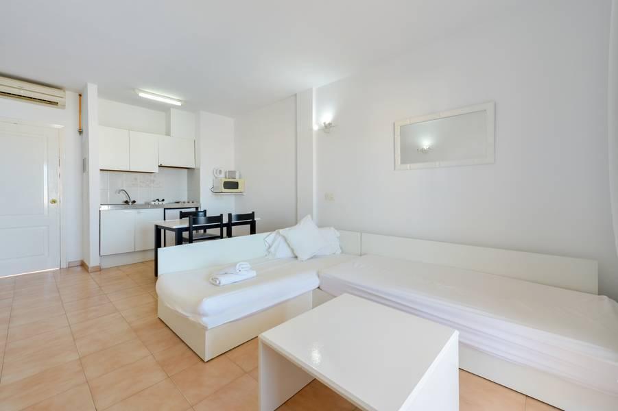 Arcomar Apartments San Antonio Bay Ibiza Spain Book