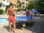 Table Tennis by the Pool at Promenade Panama Hotel