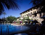 Loungers by the Pool at Arabella Sheraton Golf Hotel Son Vida Hotel