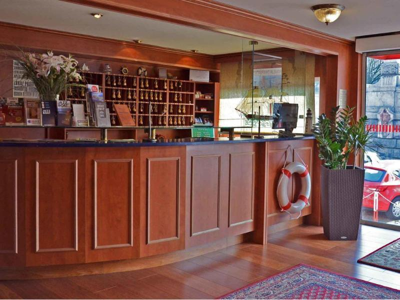 Holidays at Botel Albatros Hotel in Prague, Czech Republic