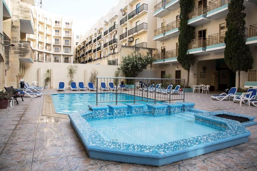 Holidays at Bugibba Hotel and Apartments in Bugibba, Malta