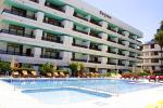 Swimming Pool with Sun Loungers at Fayna Apartments
