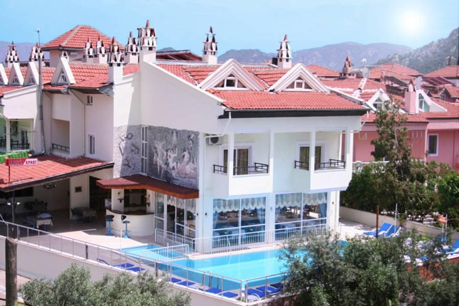 Holidays at Prestij Apart Hotel in Icmeler, Dalaman Region