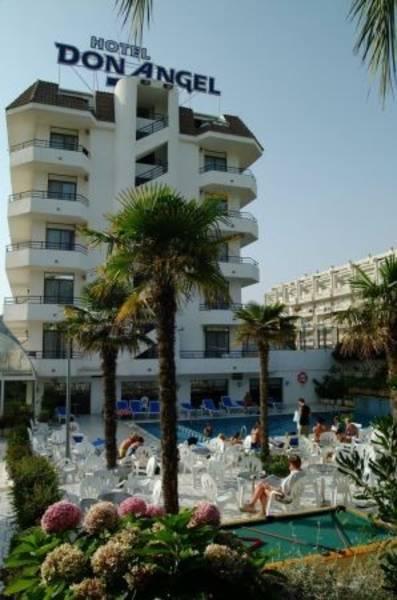 Holidays at Don Angel Hotel in Roquetas de Mar, Costa de Almeria