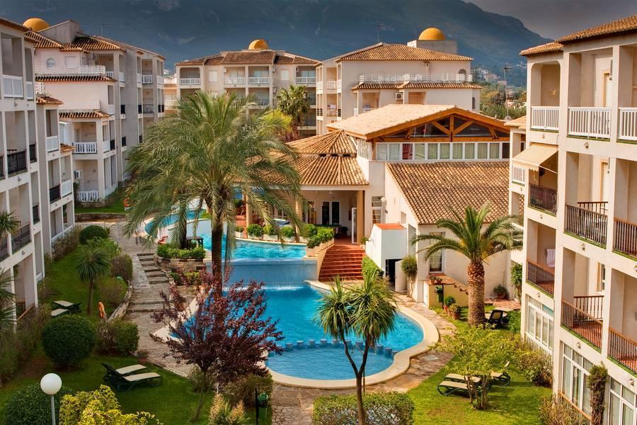 Holidays at Ona Ogisaka Garden Hotel in Denia, Costa Blanca