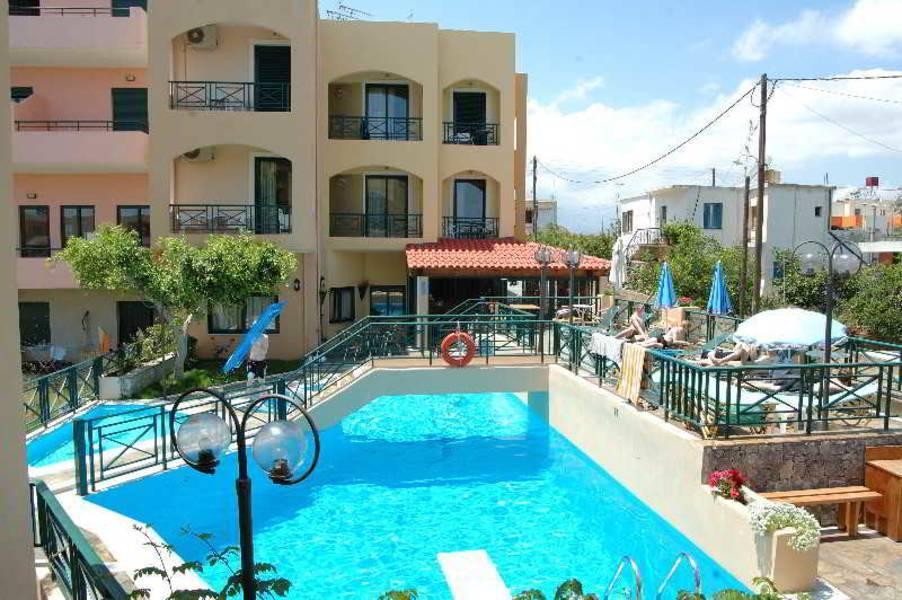 Holidays at Romantica Hotel & Studios in Georgioupolis, Crete
