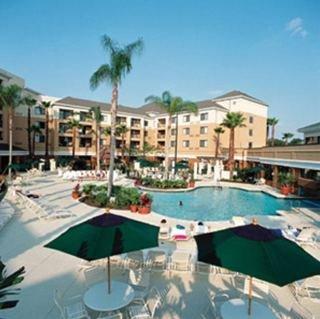 Holidays at Courtyard By Marriott in Marriott Village Hotel in Lake Buena Vista, Florida
