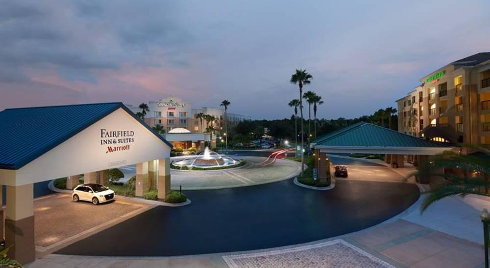 Holidays at Fairfield Inn & Suites Marriott Village in Lake Buena Vista, Florida