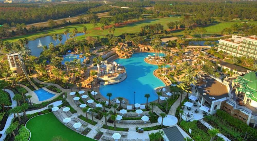 Holidays at Marriott Orlando World Center in Lake Buena Vista, Florida