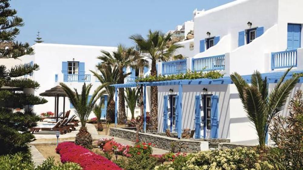 Holidays at Lady Anna Hotel in Plati Gialos, Mykonos