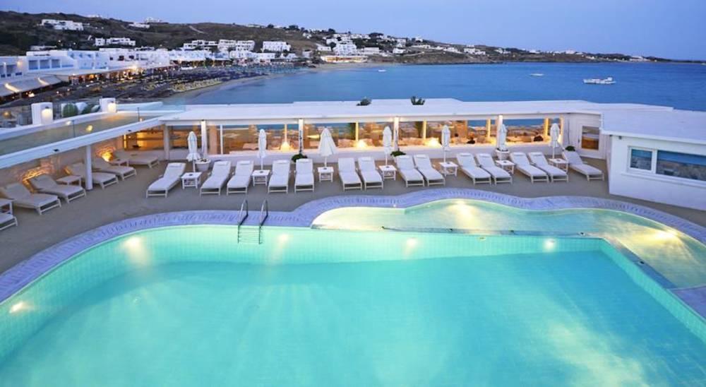 Holidays at Petinos Beach Hotel in Plati Gialos, Mykonos