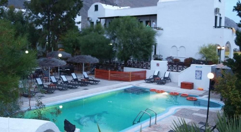 Holidays at Drossos Hotel in Perissa, Santorini