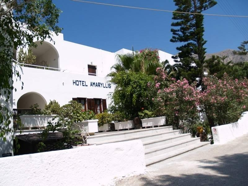 Holidays at Amaryllis Hotel in Perissa, Santorini