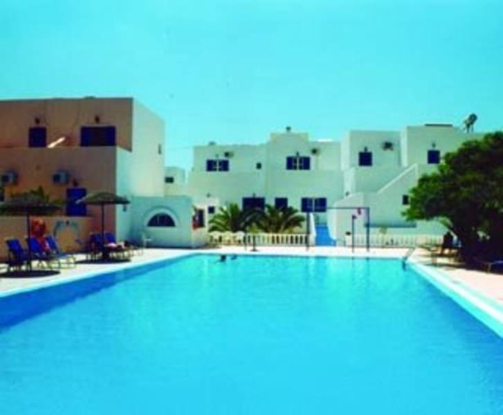 Holidays at Gardenia Hotel in Perissa, Santorini