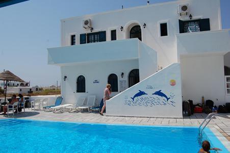 Holidays at Anemos Studios in Perissa, Santorini