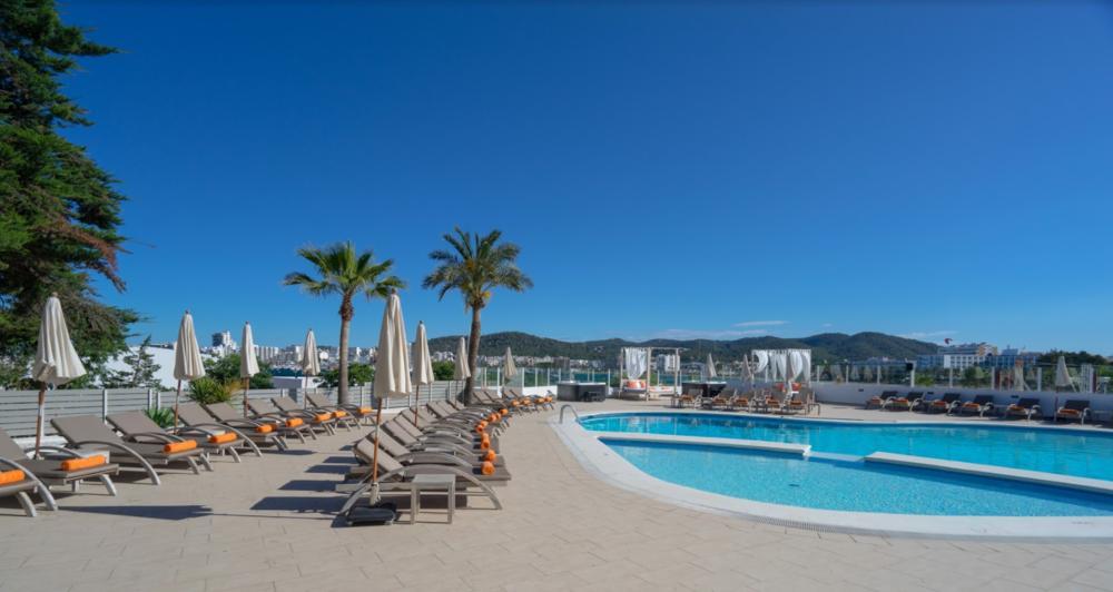 Thb Ocean Beach Club San Antonio Bay Ibiza Spain Book