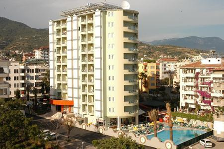 Holidays at Okan Tower in Alanya, Antalya Region