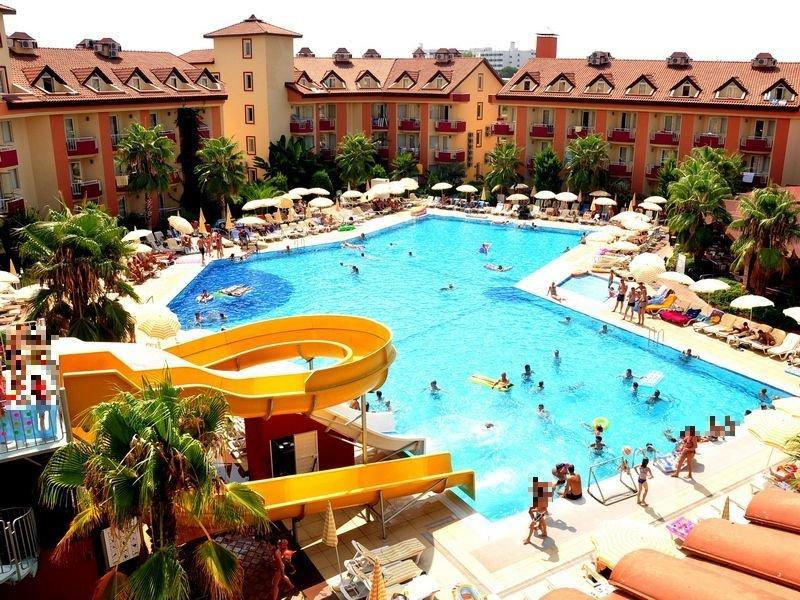 Orfeus Park Hotel Side Antalya Region Turkey Book