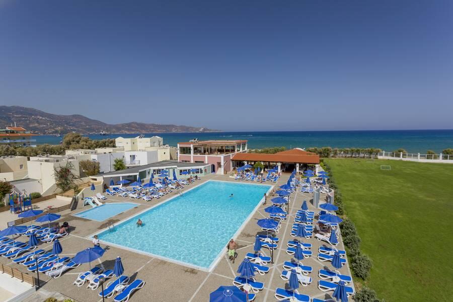 Holidays at Dessole Dolphin Bay Hotel in Amoudara, Crete